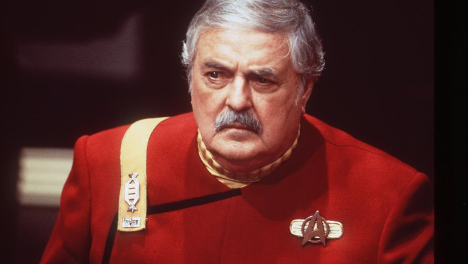James Doohan als Montgomery »Scotty« Scott in »Star Trek Generations« (1994)