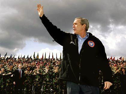 Staatschef Bush: Bye-bye, Exportprivilegien