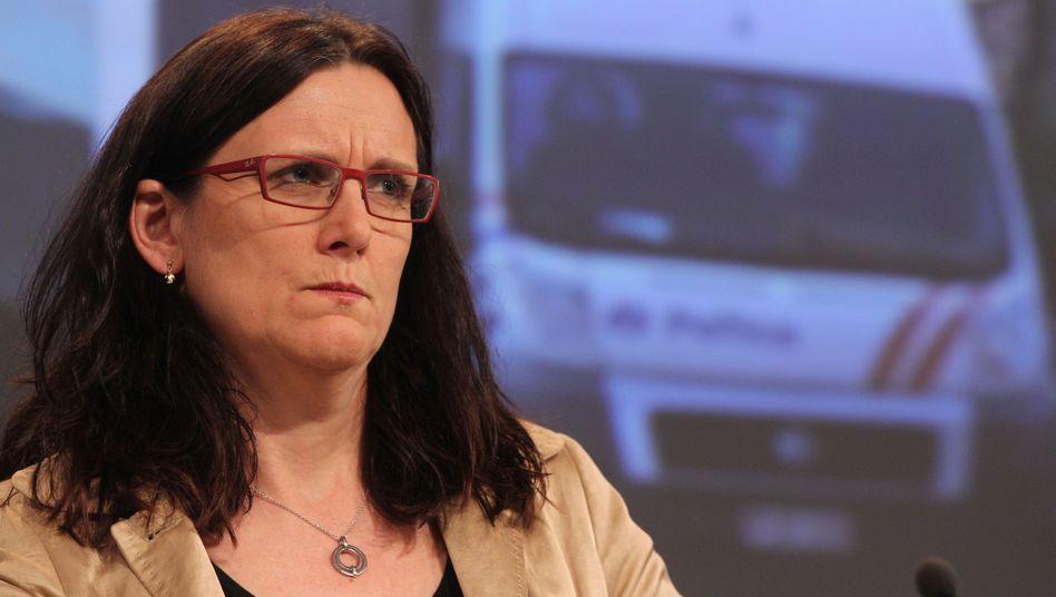 """EU-Kommissarin Malmström: """"Deutschland verletzt weiterhin EU-Recht"""""""