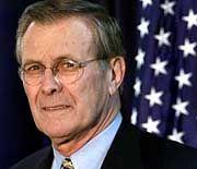 Verteidigungsminister Rumsfeld: Geschäfte mit Saddam