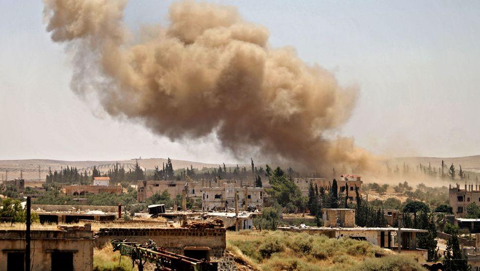 Die Region Daraa in Syrien wird von Kämpfen erschüttert