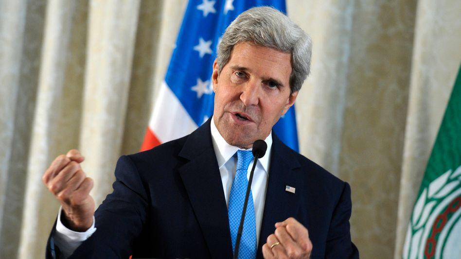 """US-Außenminister Kerry: """"Assad kann Militärschlag nur durch Abgabe von Chemiewaffen verhindern"""""""