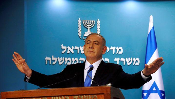 Polizei will Anklage: Netanyahu in Nöten