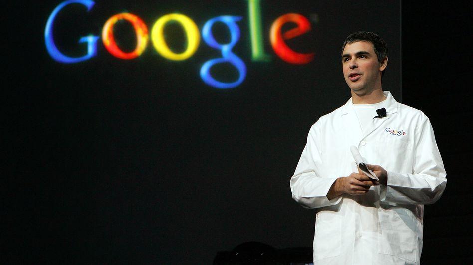 Google-Chef Larry Page: Post von europäischen Datenschützern