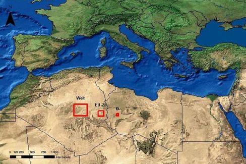 Energie-Lösung: So viel Wüstenfläche müsste mit Spiegel-Kraftwerken bestückt werden, um die Welt, Europa oder Deutschland mit Strom zu versorgen