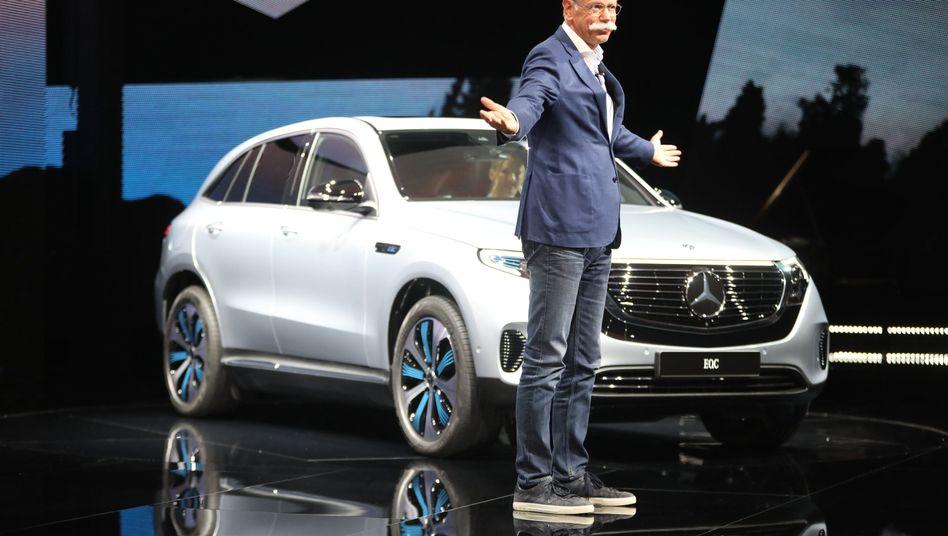 Noch-Daimler-Chef Zetsche