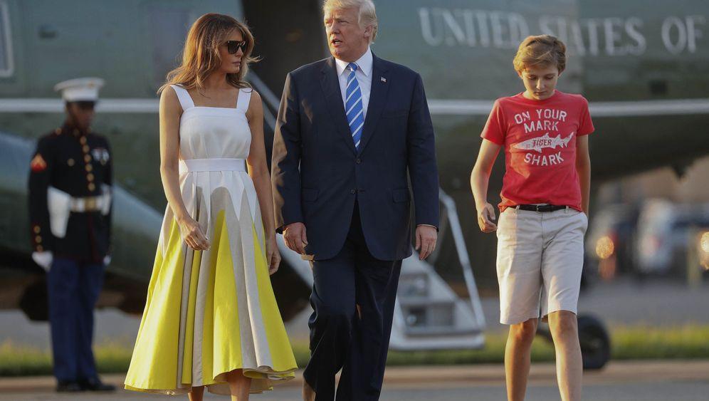 Barron Trump: Erst die Schule, dann ins Weiße Haus