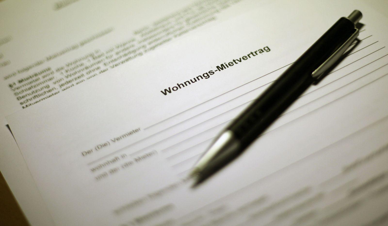 Reform des Mietrechts / Mietvertrag / Miete
