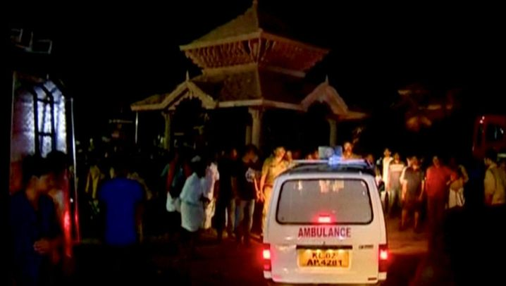Indien: Feuerkatastrophe in Kerala