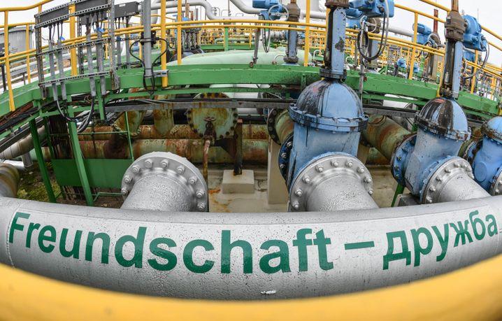 Druschba-Pipeline in Schwedt