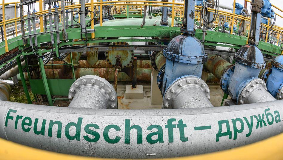 Druschba-Pipeline in Schwedt (Archiv)