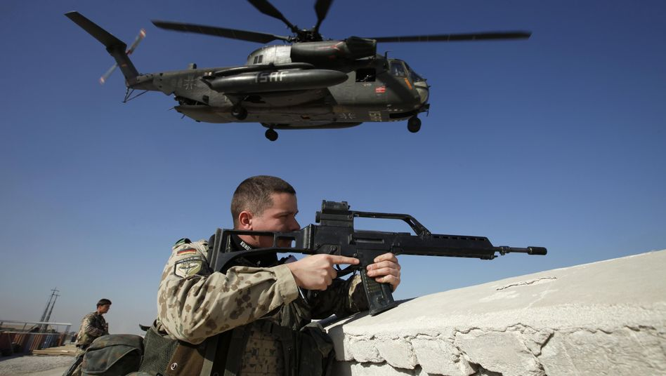 German troops have been stationed in Afghanistan since 2002.