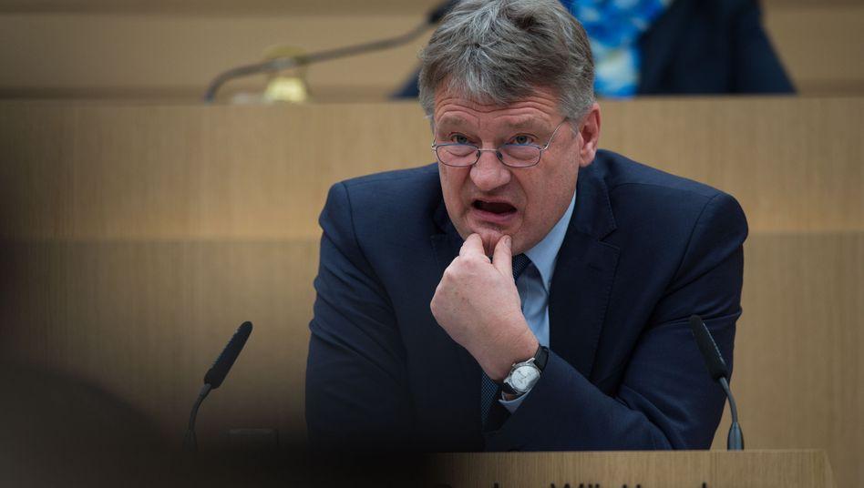 """AfD-Chef Jörg Meuthen: Mit Stress und Überforderung sei das """"Versäumnis"""" nicht zu entschuldigen"""