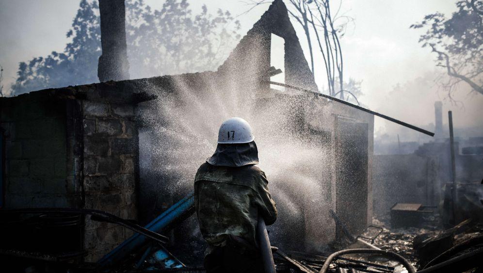 Rebellenhochburg: Überleben in Donezk