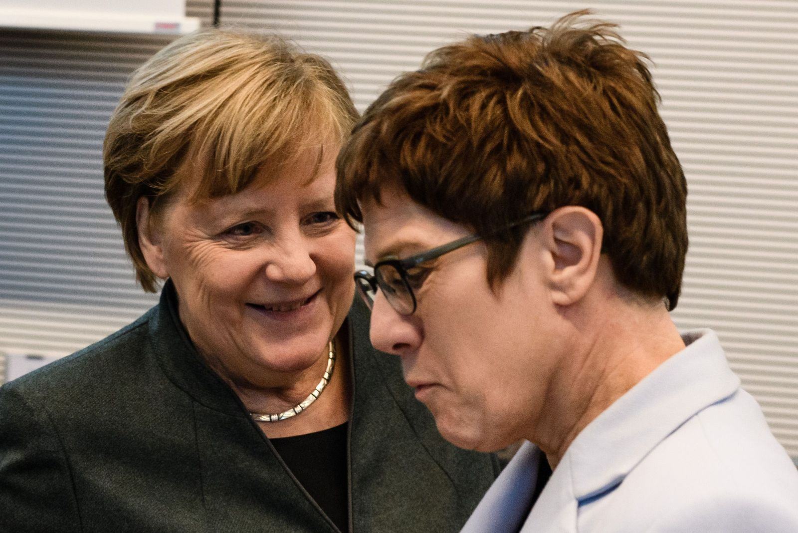 CDU and CSU faction meeting, Berlin, Germany - 11 Feb 2020