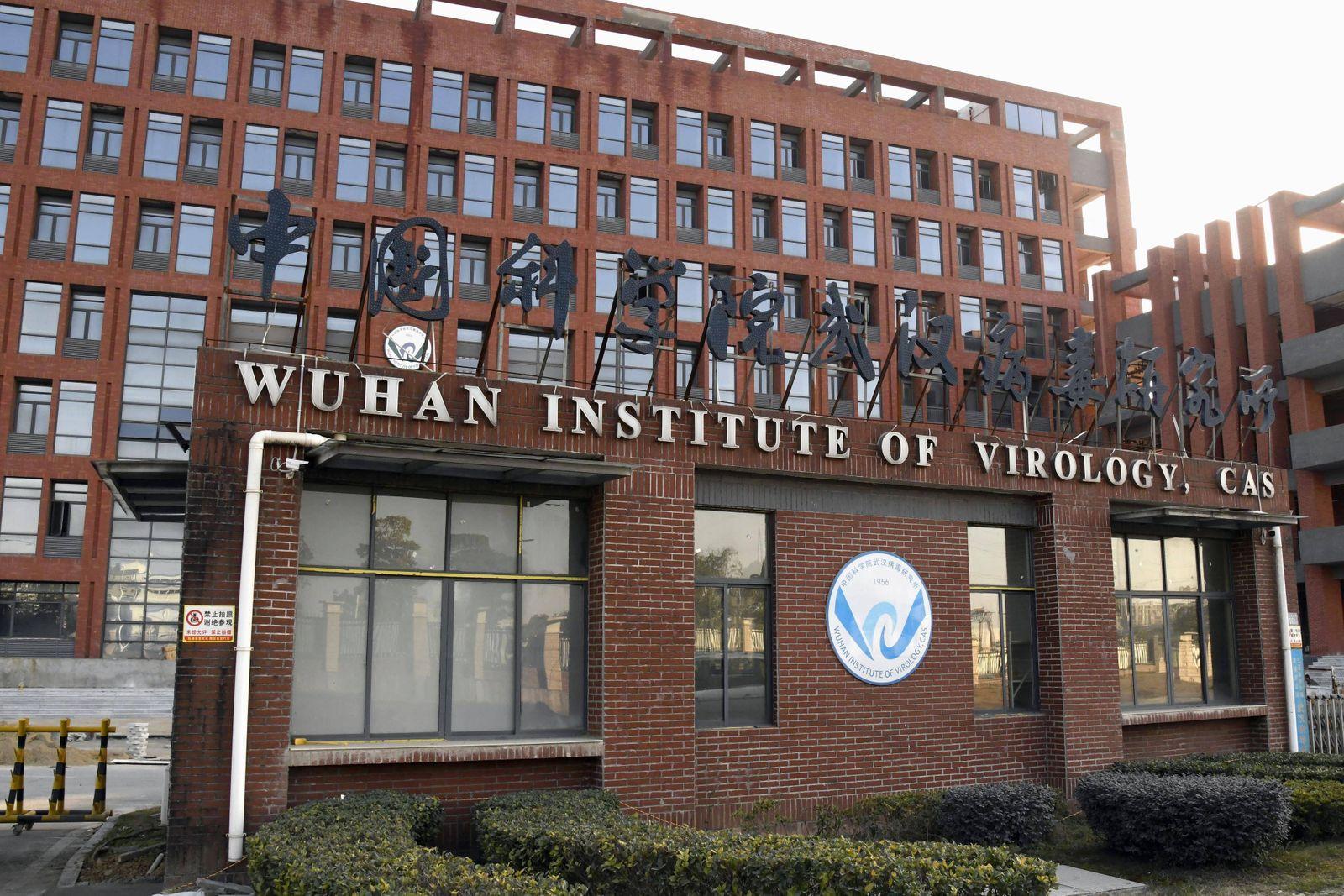 Wuhan Institute of Virology Photo taken Jan. 14, 2021, shows the Wuhan Institute of Virology in Wuhan, China. PUBLICATI