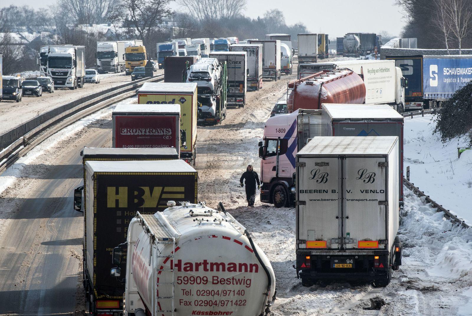 Winter in Dortmund