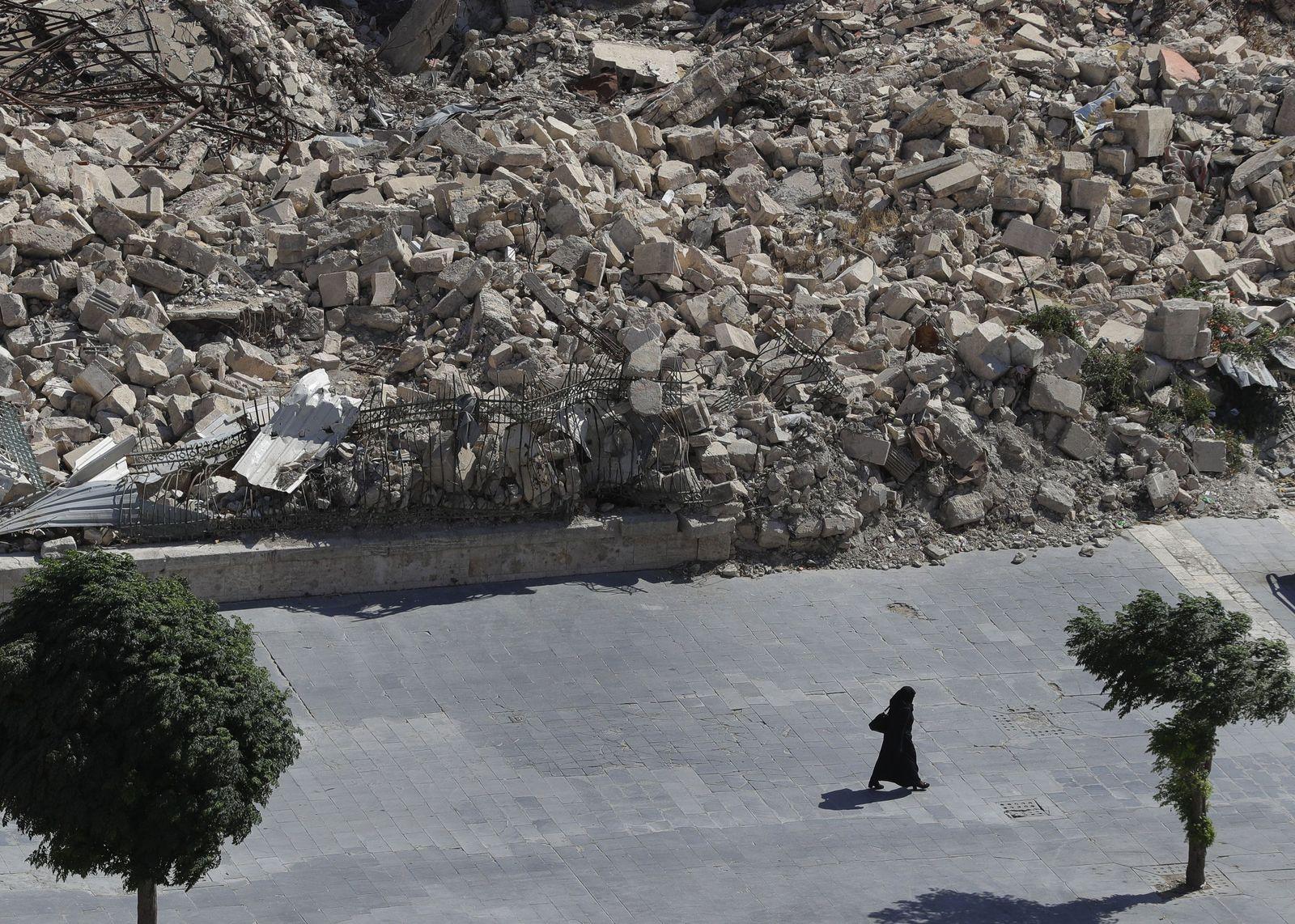 Syrien/ Aleppo/ Zerstörung