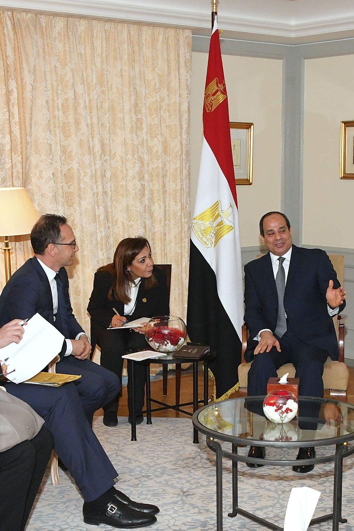 Ägyptischer Präsident besucht Deutschland