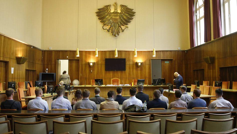 Identitäre vor Gericht in Graz