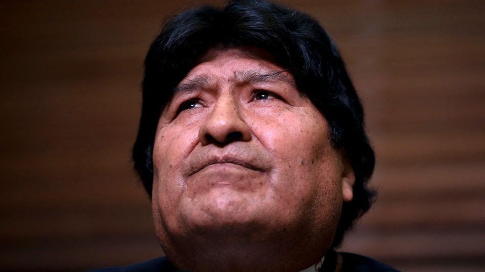 Evo Morales wird unter anderem Terrorismus vorgeworfen