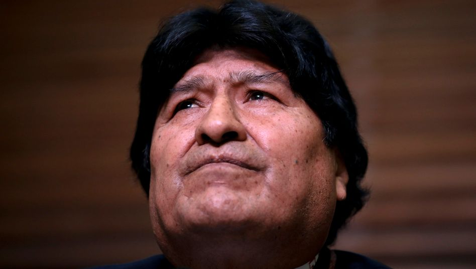 Boliviens Ex-Präsident Evo Morales im Februar in Buenos Aires