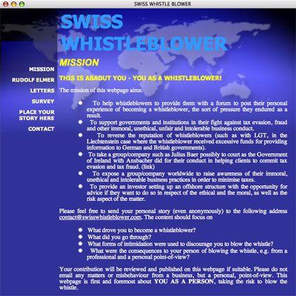 """""""Whistleblower""""-Website: Hier können Informanten ihr Wissen anonym preisgeben"""