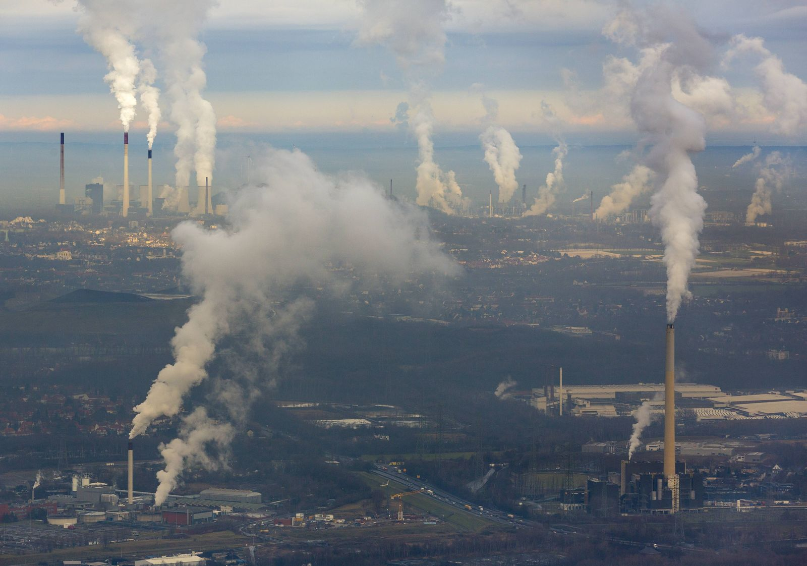 EINMALIGE VERWENDUNG Ruhrgebiet/ Industrie