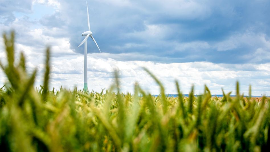 Windkraftanlage in Niedersachsen