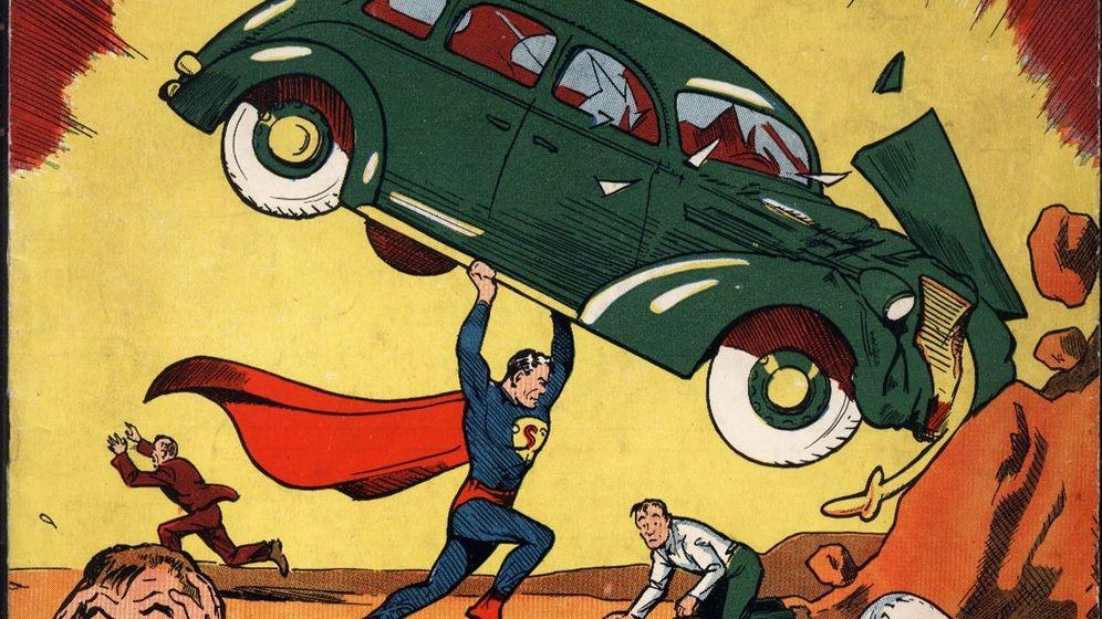 Die ersten Abenteuer von Superman: Fliegen, Autos werfen, Filmstar werden