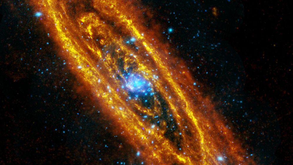 Andromeda-Galaxie: Sternengeburten und kosmische Todesfälle