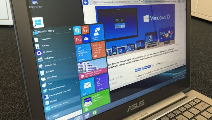 Microsofts neues Betriebssystem: Das ist Windows 10