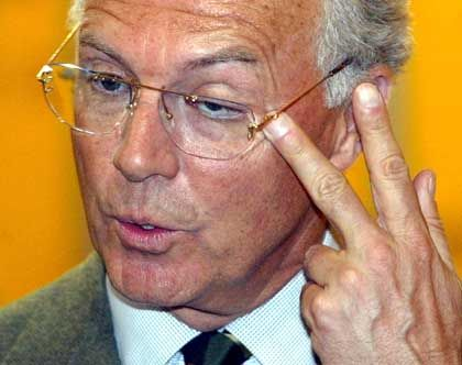 """Franz Beckenbauer: """"Das lasse ich mir nicht gefallen"""""""