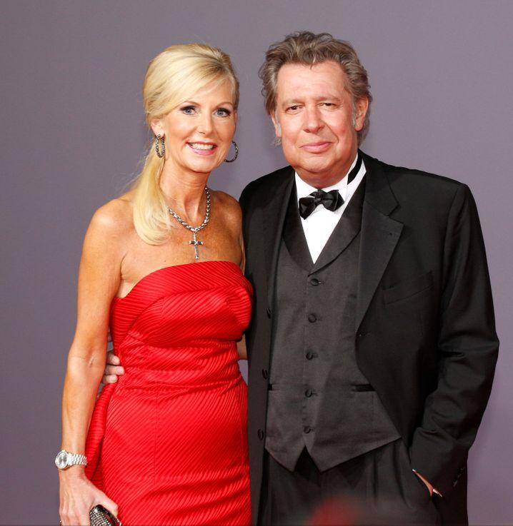 Fedder mit Ehefrau Marion 2013
