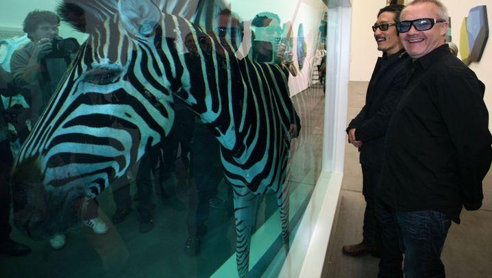 Galerie zur Eröffnung: Fleischbeschau in Formaldehyd
