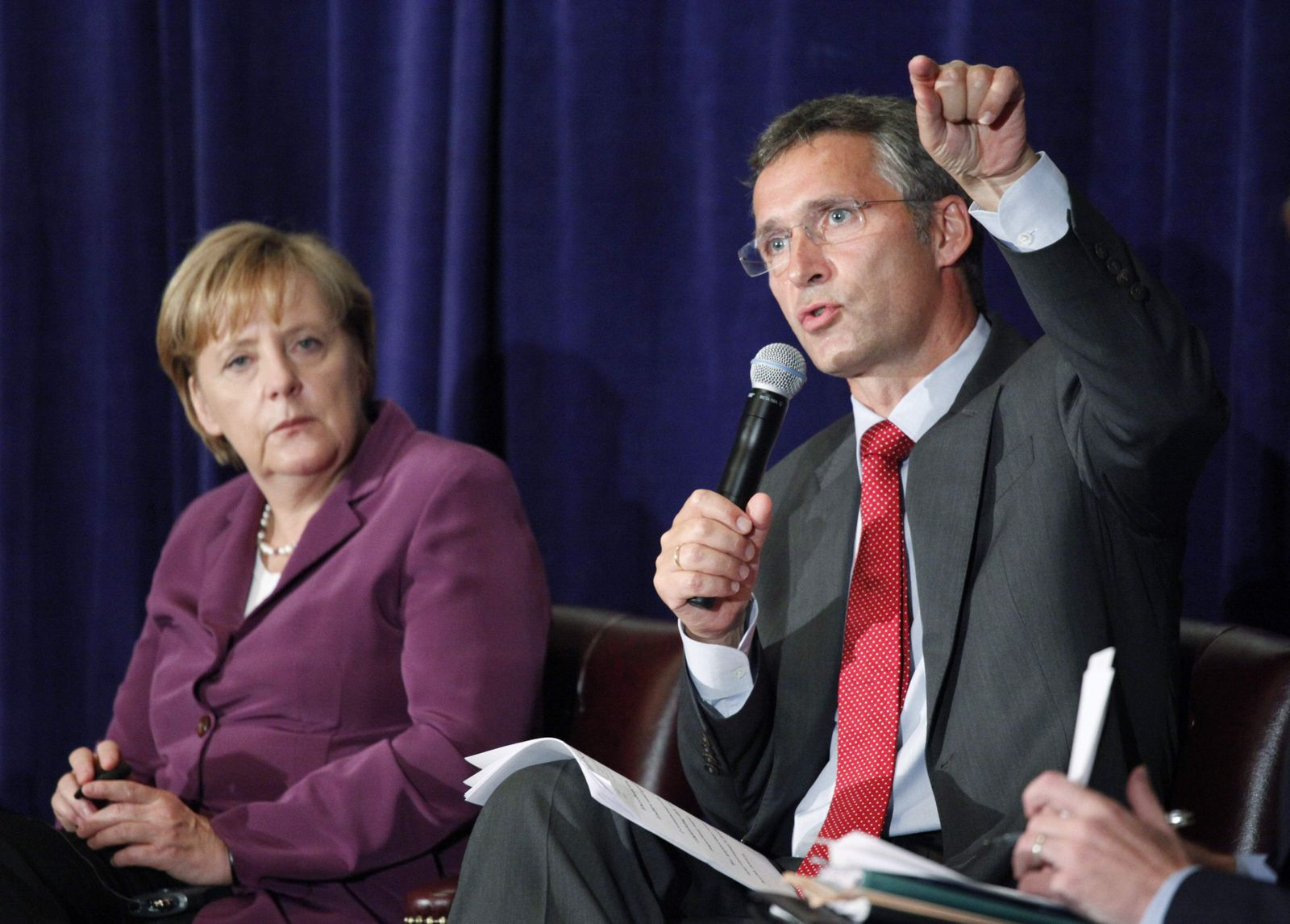 UN Norway Germany Merkel Stoltenberg