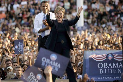 """Präsidentschafts-Bewerberin Hillary Clinton: """"Sie wird Kandidatin der Demokraten"""""""
