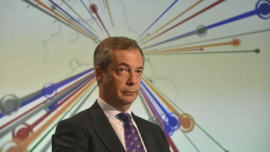 Ukip-Chef Nigel Farage: Grenzen des Populismus