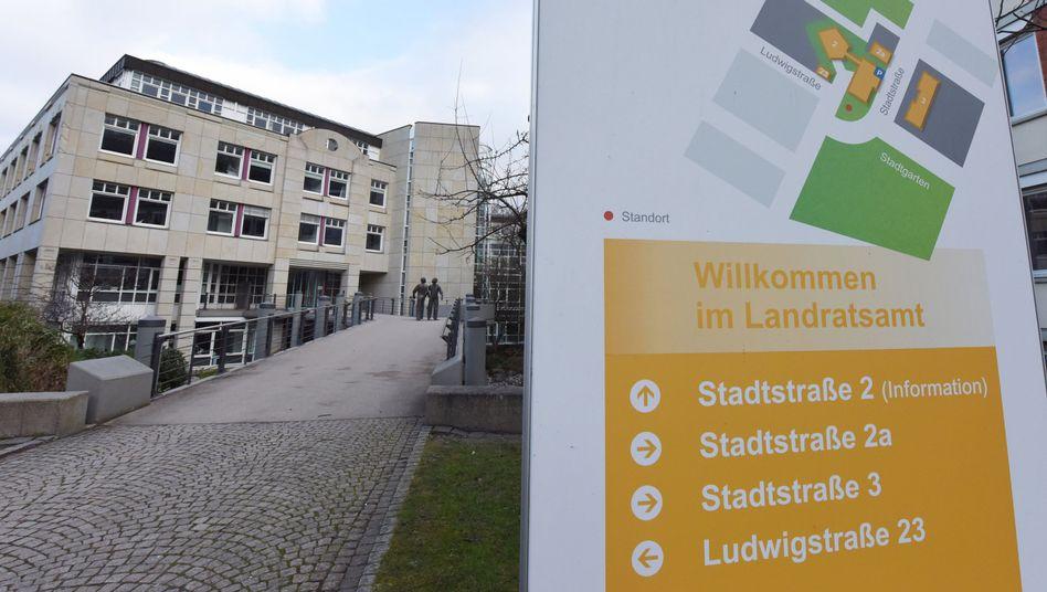 Landratsamt in Freiburg