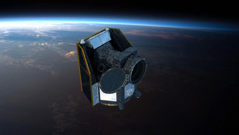 """Esa-Satellit """"Cheops"""" (Künstlerische Darstellung): Jenseits unseres Sonnensystems"""