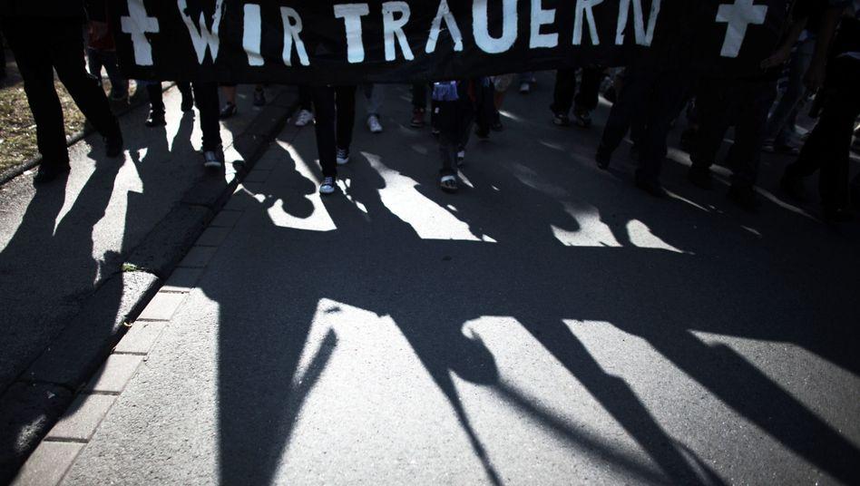 Wut und Trauer in Duisburg: Im Westen geht die Sonne unter