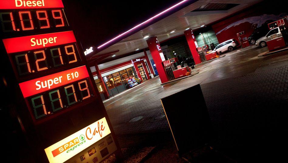 Tankstelle in Berlin