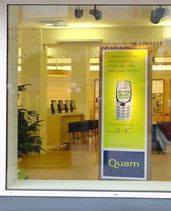Quam, Top-Flop 2001: Kein Anschluss unter dieser Nummer