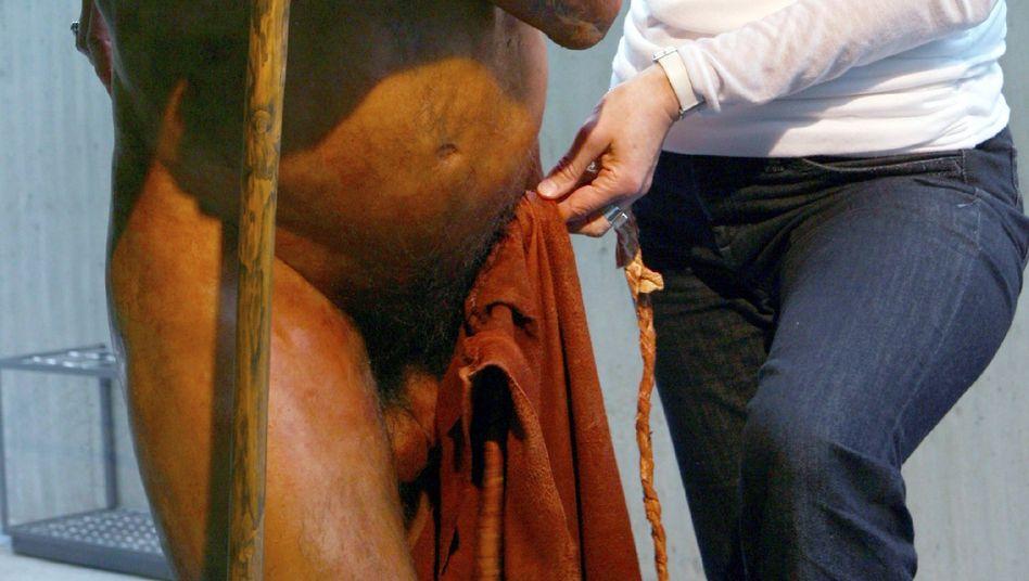 Neandertaler-Rekonstruktion: Rechtshändigkeit schon etabliert
