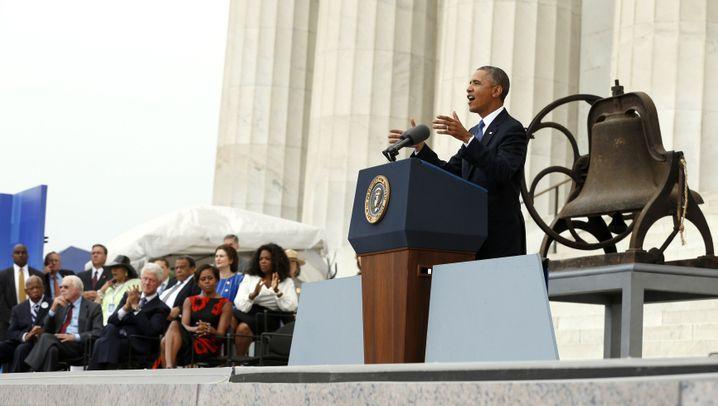 Feier für Martin Luther King: Obama und der Glockenschlag