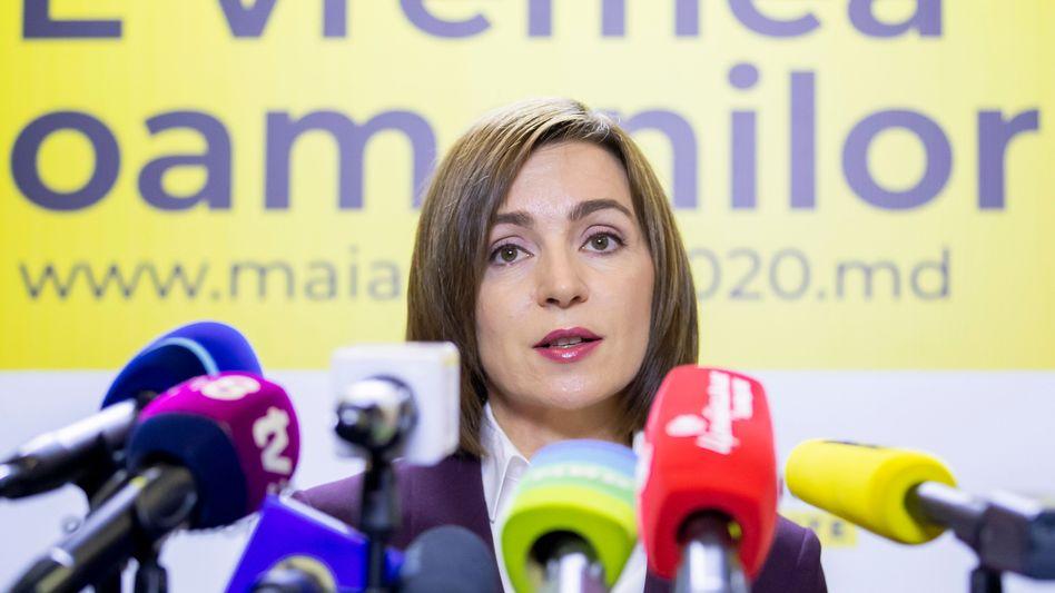 Moldaus neue Präsidentin Maia Sandu: Vision von einem transparenten Rechtsstaat