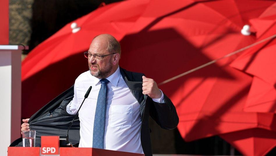 Wahlkampf: Schulz will Abzug von US-Atomwaffen aus Deutschland