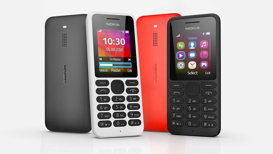 Aus besseren Zeiten: Nokia-130-Handys
