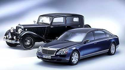Maybach-Limousine historisch und aktuell: Geld verdienen mit den Superreichen?