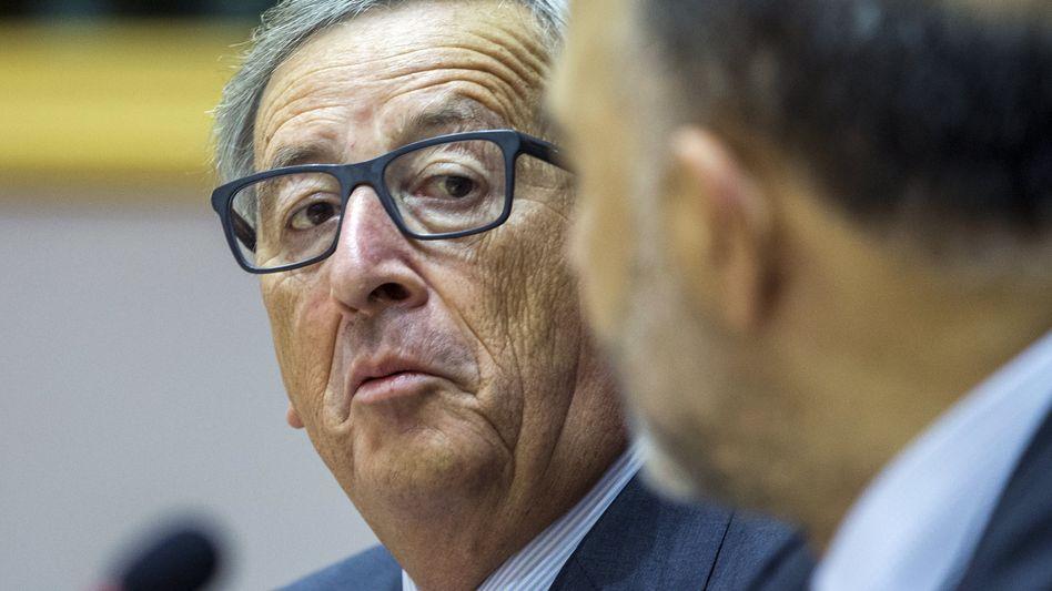 """Kommissionschef Juncker im Sonderausschuss: """"Ungerecht und unlesbar"""""""
